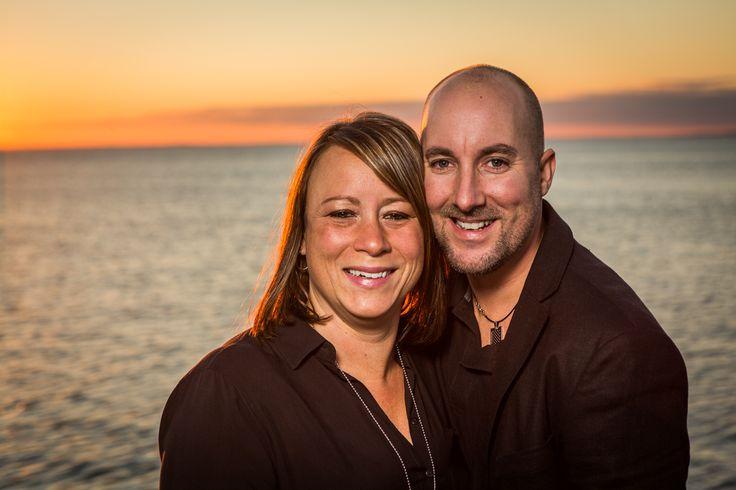 Solnedgång med Petra & Fredrik!