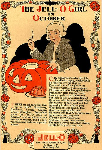 Image result for vintage magazine halloween ads