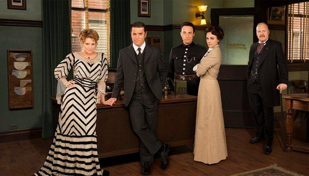 """It has recently come to our attention that our friends down south (and even some fellow Canadians) may be missing out on the wonderfulness that is Murdoch Mysteries. 