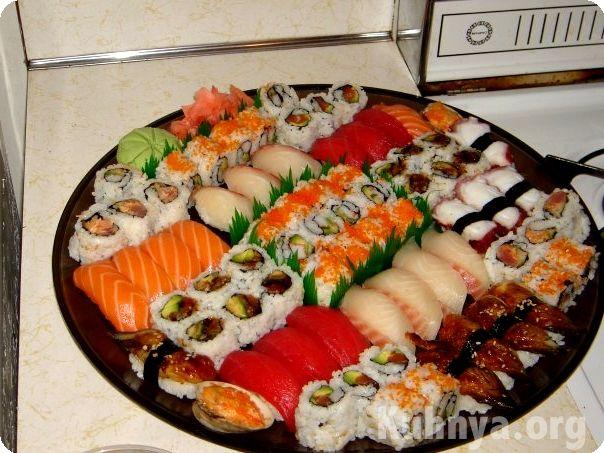 Вкуснейшие суши в домашних условиях