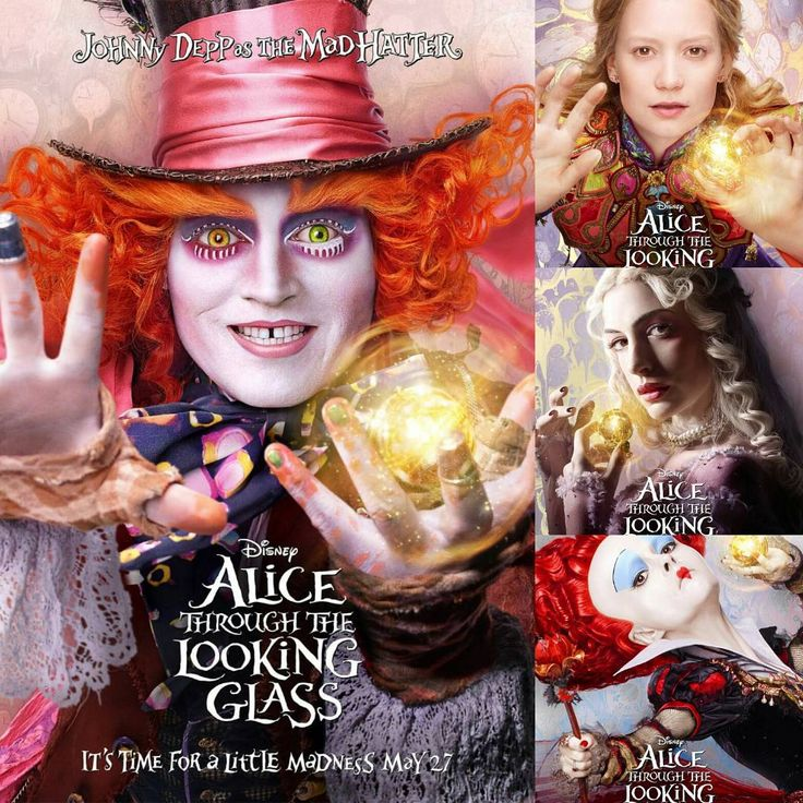 Alice Through The Looking Glass I can't wait