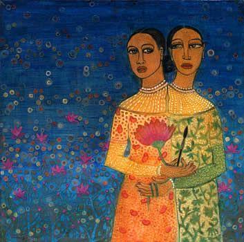 Dhruvi Acharya painting