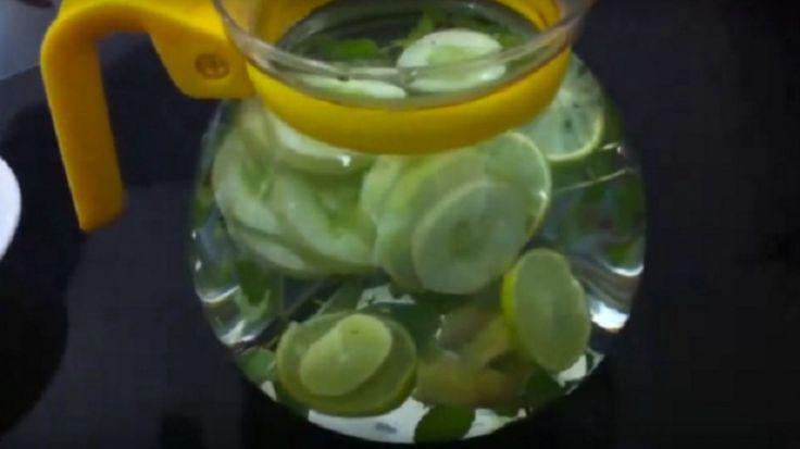 Wil je graag wat afvallen in 2016? Dit heerlijke drankje helpt jou om die overtollige kilo's kwijt te raken!