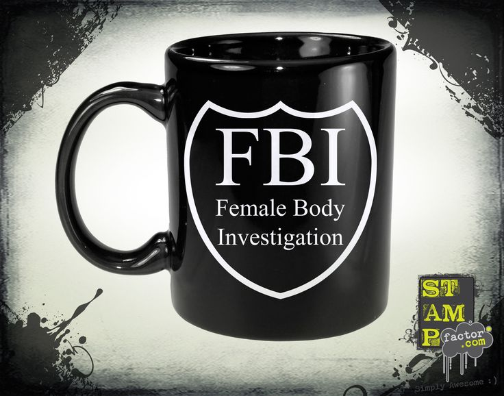 FBI Agent (Ghost White) 2014 Collection - © stampfactor.com *MUG PREVIEW*