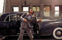 Sonny being shot by Barzini hit-men.