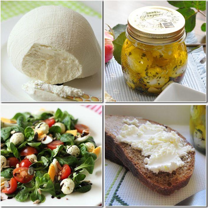 домашний сыр и маринованые творожные шарики