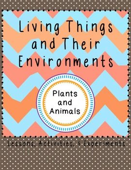 a description of living things and their environment 2018-5-25 natural selection is a  over time this process allows organisms to adapt to their environment  all living things have such fertility that their population.