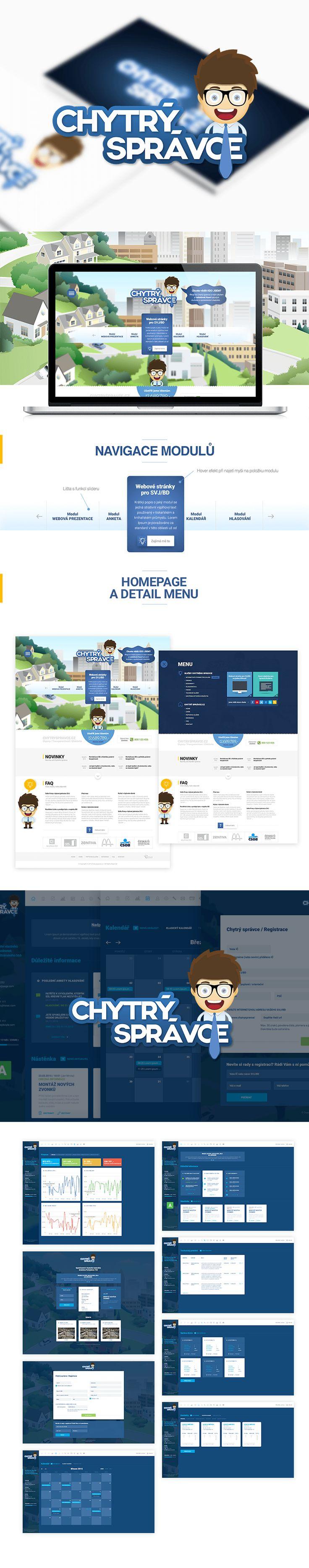Logo, rozsáhlá webová aplikace a vývoj administrace pro našeho klienta.