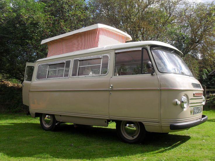 Commer Bluebird 1961 camper van.