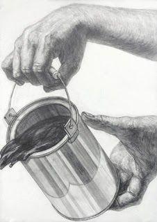 2014年度 多摩美術大学 プロダクトデザイン専攻 合格者再現作品:鉛筆デッサン