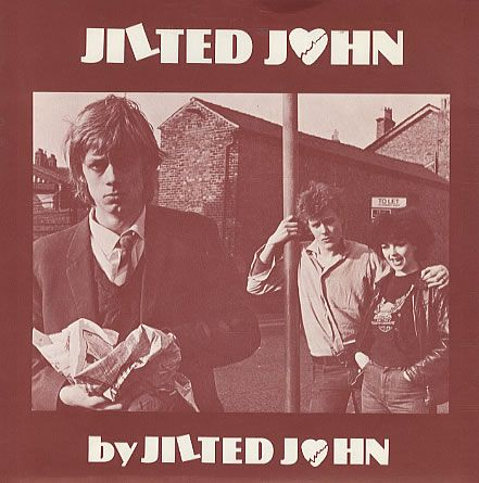"Classic 70's UK punk single. Jilted John aka Graham Fellows.  ""I've bin going out wiv a girl, herrrrr name is Julie..."""