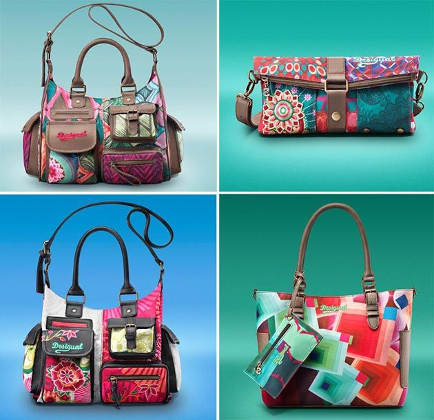 Desigual Spring/Summer 2014 Shoes and Accessories  #bags