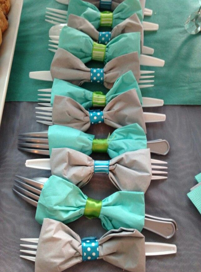 Baby boy shower decor by The~Lil~Things. He'll be a lil gentleman one day! #babyshower #babyboy #gentleman #shower #party #ilovemyjob