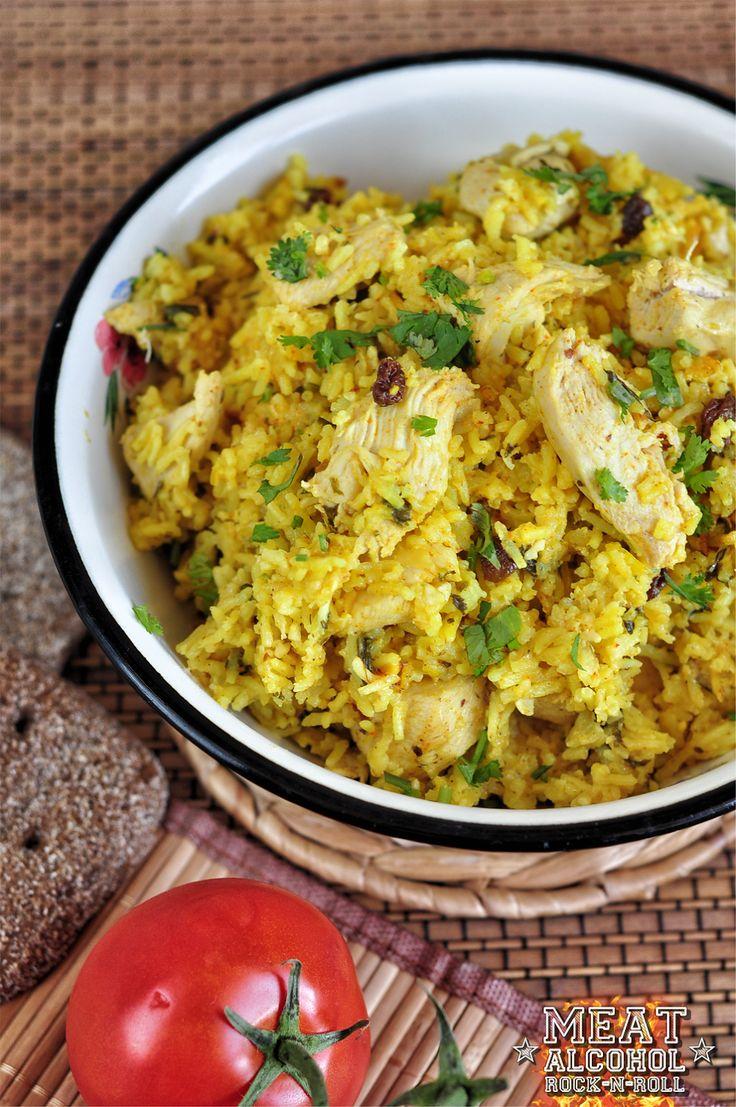 Meat, Alcohol, Rock-n-roll: (Индийская кухня) Индийское бирьяни из курицы basmati rice, chicken
