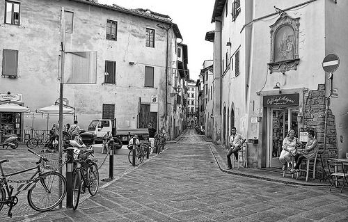 Piazza della passera- Firenze.