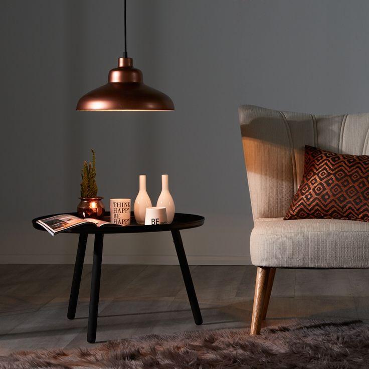 Pendelleuchte Stella  - Kupfer - 1-flammig / home24 - 120€