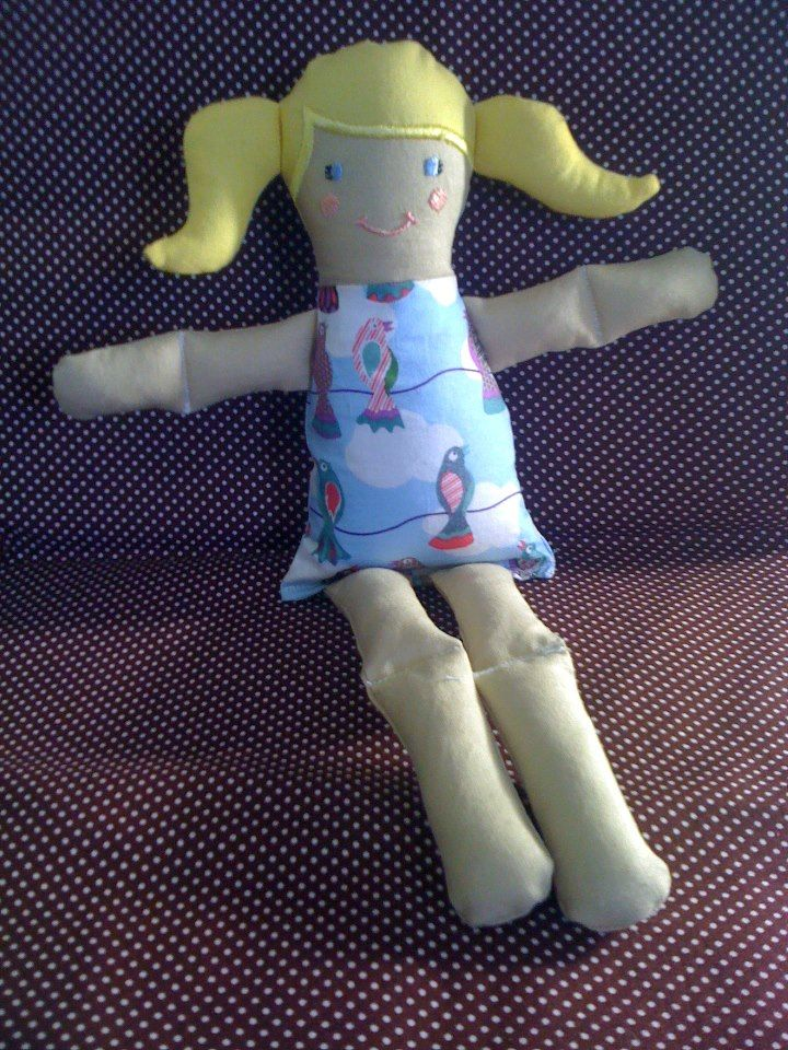 My very first dolly.