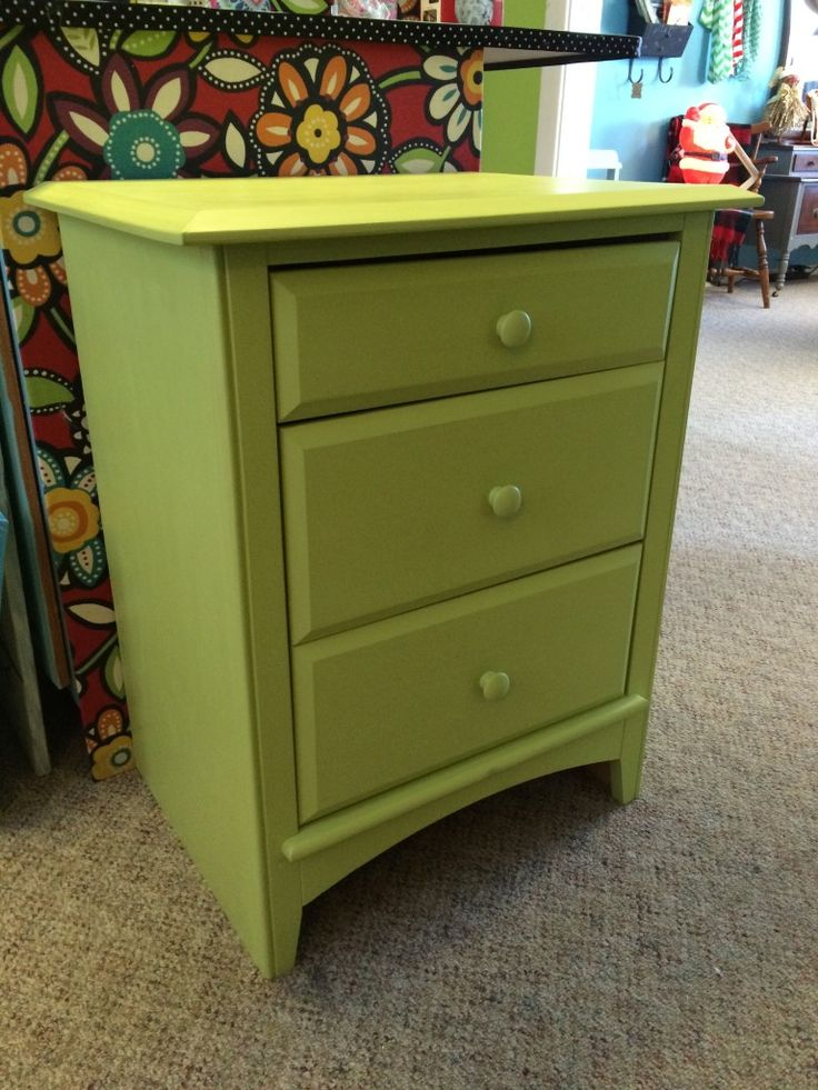 Finished Limeade Chest · Green Painted FurniturePaint ...