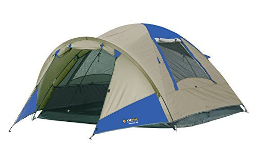 Oztrail - Tasman 3V Three Person Dome from Oztrail with tent floor area 220x200x130cm Tent head height 130 cm (DTMTAS3V) Camping tent, family tent 3.9kg