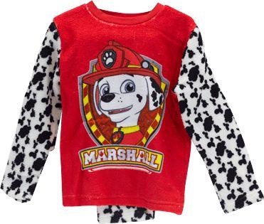 Pijama para niños patrulla canina, de coralina, todas las tallas