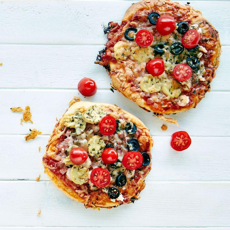Nenäpäiväpizzat | K-ruoka #lastenkutsut