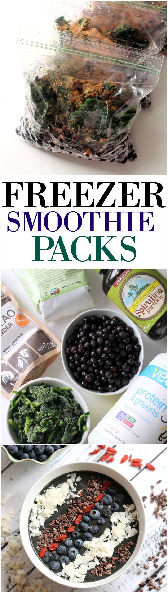 How to Make Freezer Smoothie Packs | Hummusapien