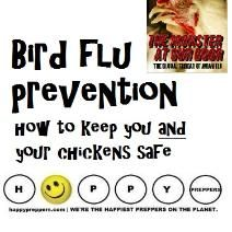 Do you have your PANDEMIC MASK? Bird flu is on the rise! Here's what you can do: http://happypreppers.com/avian.html   #preppertalk #pandemic #birdflu