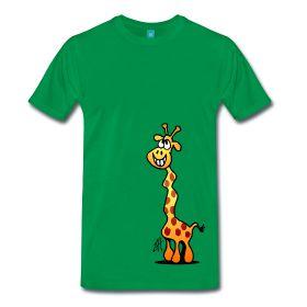 Giraffe T-Shirt. #Spreadshirt #Tekenaartje #SOLD
