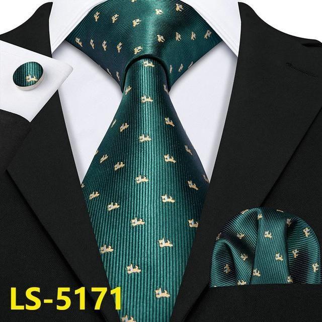 Emerald Green NEW Men/'s SelfTie Neck tie Tie Formal Party Wedding