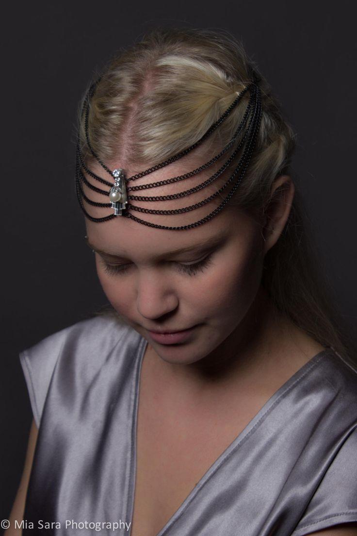 Art Deco inspired headpiece by Deccoangel on Etsy