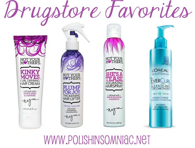 My favorite hair products from the drugstore (I will choose these over my salon brands!)