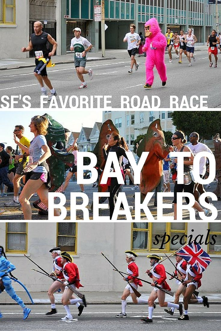 7 miles across the city of SF from the bay to the ocean breakers, this running tradition is full of costumes, chaos, and fun!