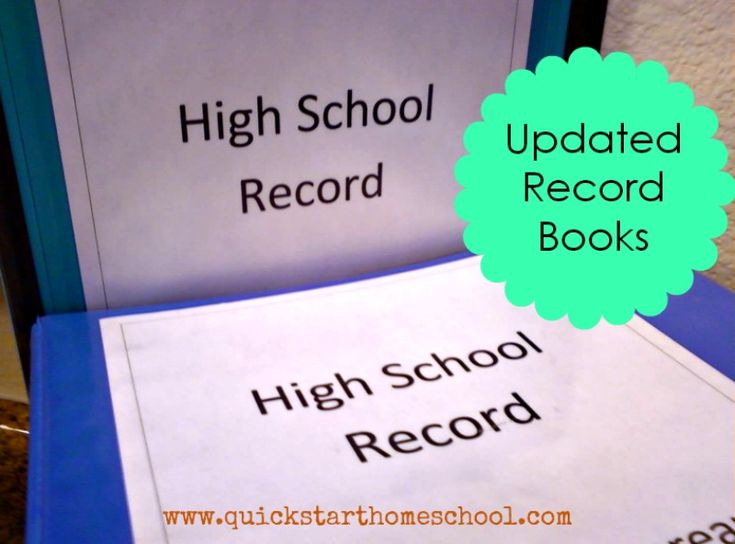 How to create a comprehensive homeschool record for high school. Includes transcript, course descriptions, letters of recommendation, writing samples, best work examples, etc.