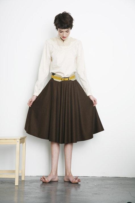 Swing Skirt Pattern 107