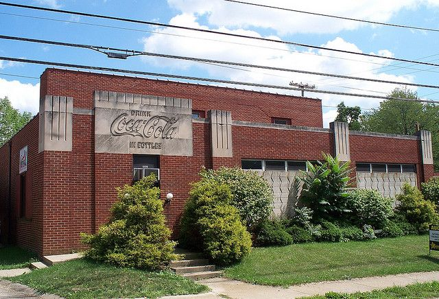 The former Coca Cola bottling company. My uncle retired here.