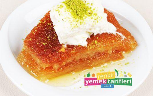 Ekmek Kadayıfı ekmek kadayıfı,ekmek kadayıfı tarifi,ekmek tatlısı,tatlı tarifleri,dessert recipe,рецепт десерта,Nachtischrezept http://renkliyemektarifleri.com/ekmek-kadayifi