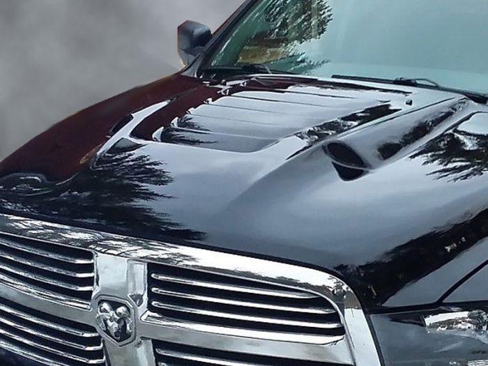 FITS Dodge RAM 2500 3500 Hood Vent Decals 2010 2011 2012 2013 2014 2015 16 17 18