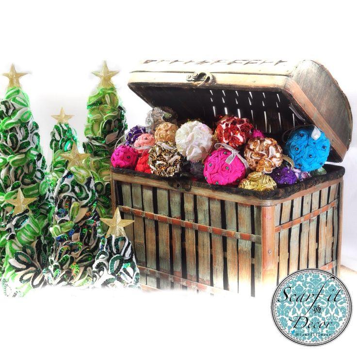 #Arbolitos #bambalinas únicos de nuestra colección #HeySanta!  #Christmas #tree #ornaments