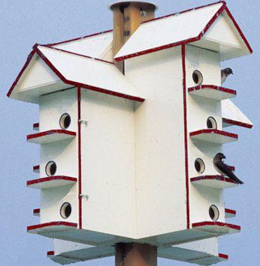 T14 Purple Martin Bird House