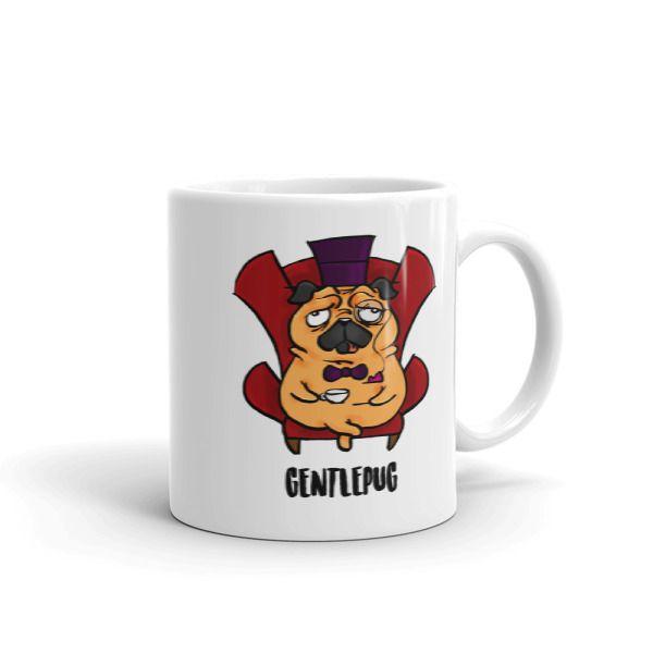 Gentle Pug Mug