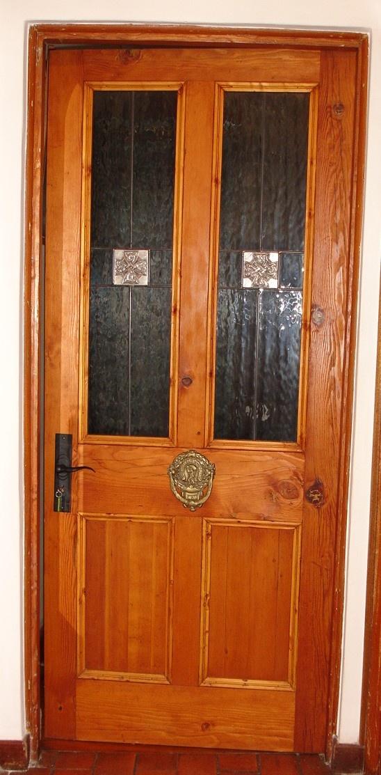 Victorian glass top door - new - made to .860mm wide