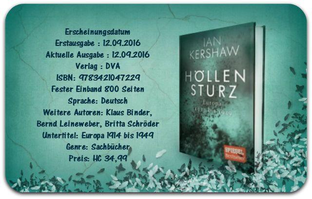"""Leserattes Bücherwelt: [Karls Rezension] """"Höllensturz"""" Ian Kershaw"""