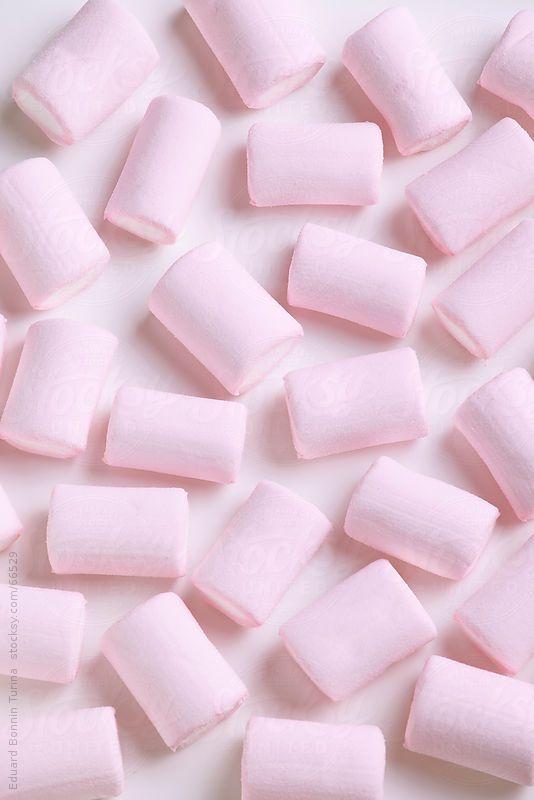 Pink marshmallows. by BONNINSTUDIO | Stocksy United