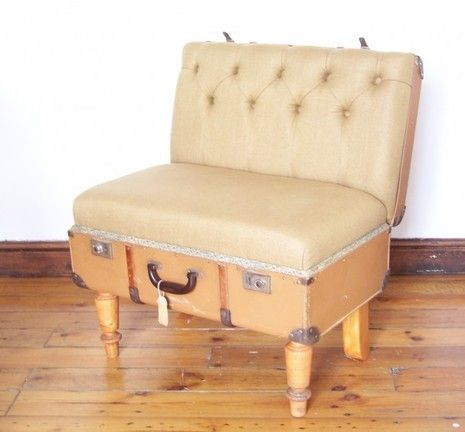 Vintage Suitcase...CHAIRS