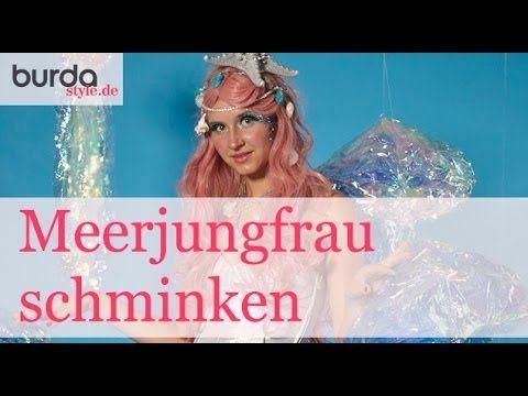 burda style – Tutorial: Meerjungfrau schminken