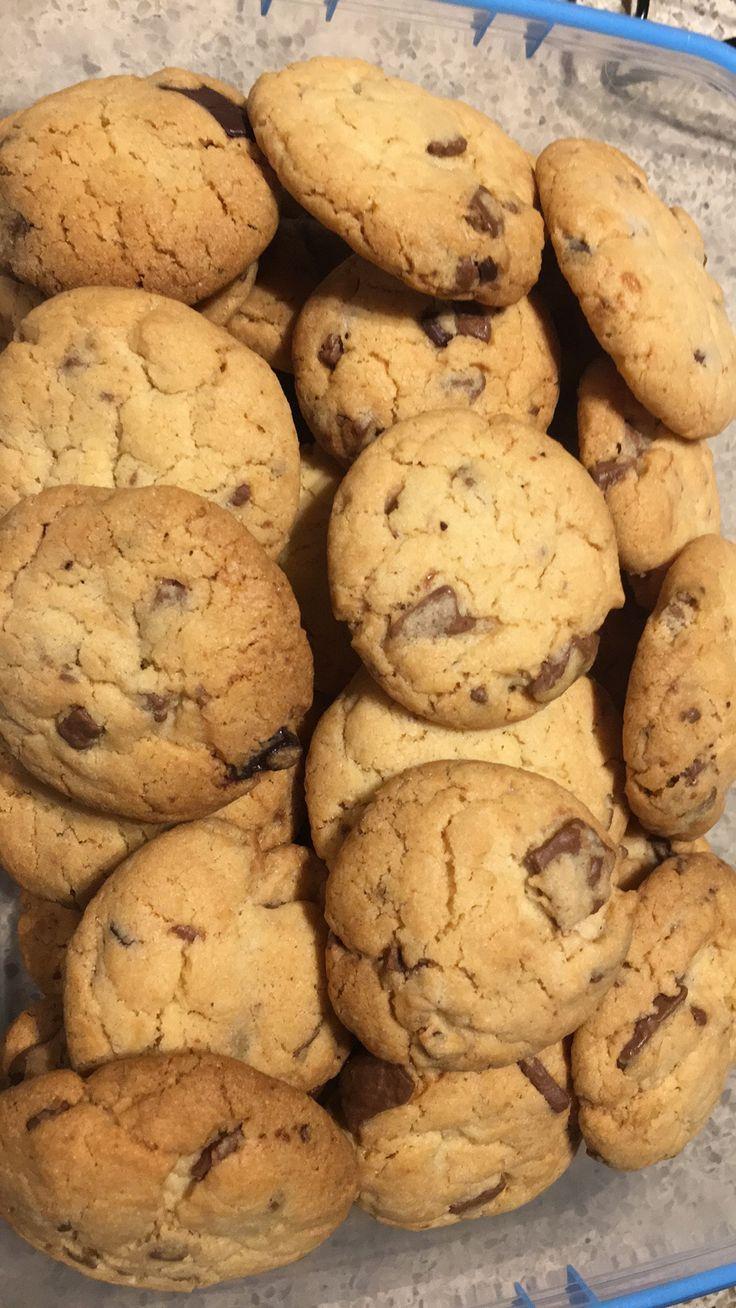 Choc chip cookies #madebyjo