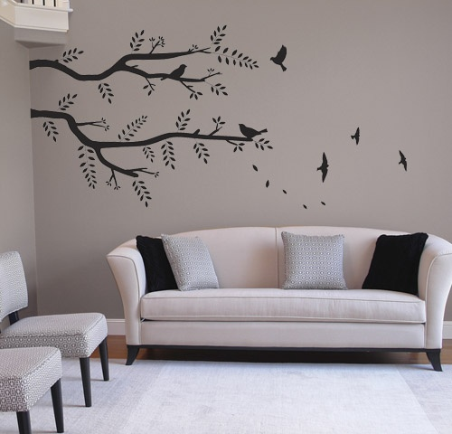 Best Wall Decals Images On Pinterest Wall Clings Wall - How to put a decal on my wall