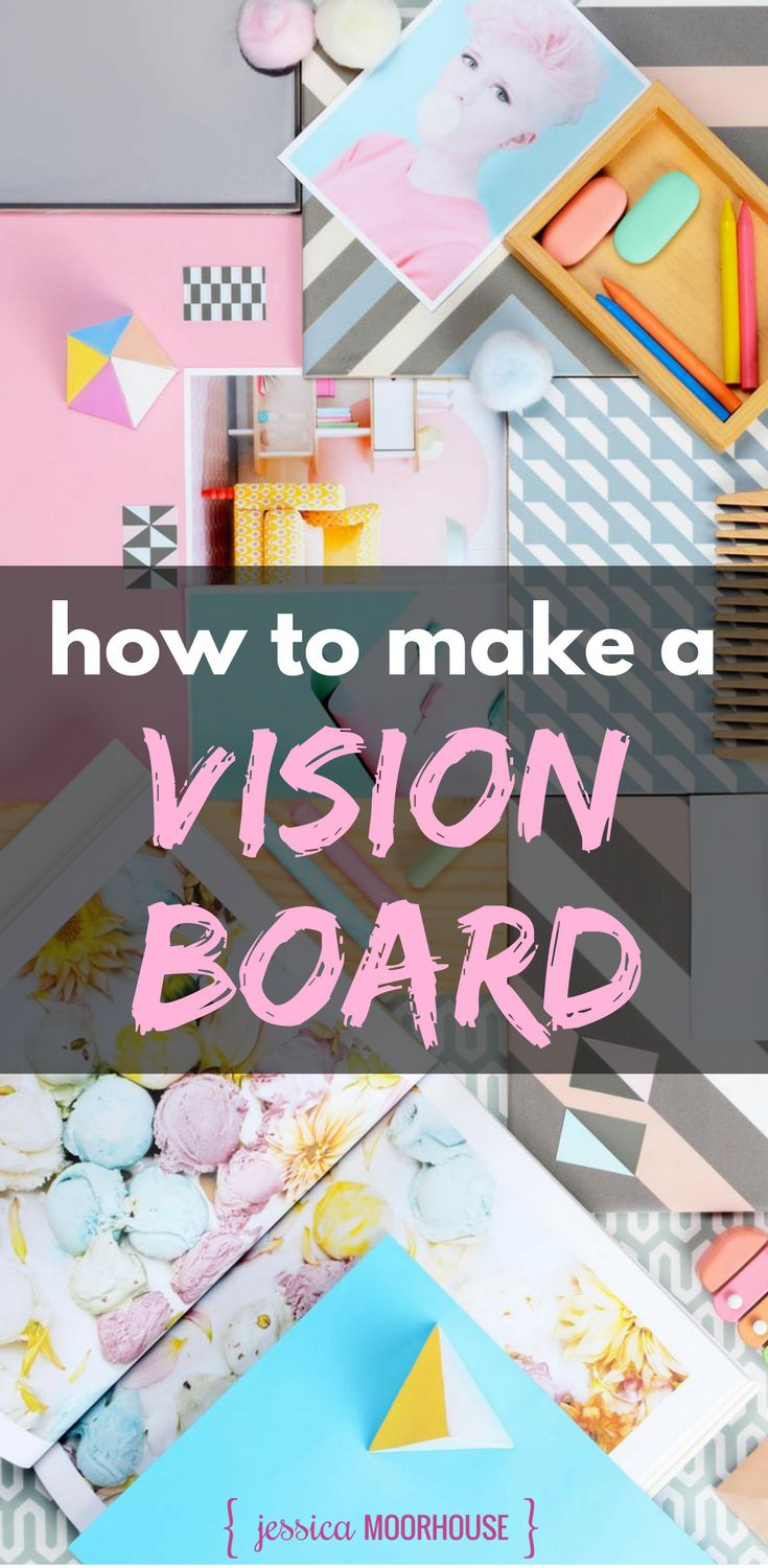 How to make a vision board | Vision board review | Actionable vision board | Dream board | Goals | Girl boss #visionboard #dreamboard #goals