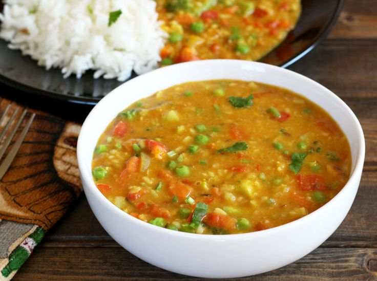 Mixed Vegetable Dal is healthy, nutritious and flavorful vegan recipe that is an alternative to traditional dal, can be prepared in less than 25 minutes.
