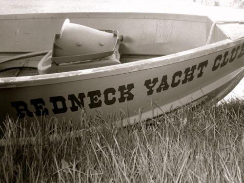 Club Redneck Craig Yacht Morgan